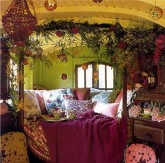 I could certainly live in this room!