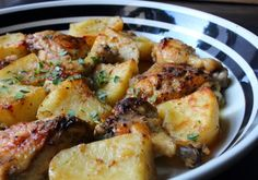 Food Wishes Video Recipes: Greek Lemon Chicken and Potatoes – Both Homers Would…