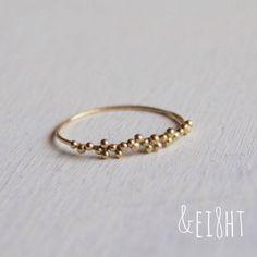 【受注製作】K18 tsubu ring - ei8ht