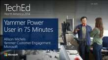 Yammer Power User in 75 minutes.