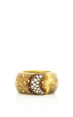 Warning Moon Ring by Vicente Gracia for Preorder on Moda Operandi