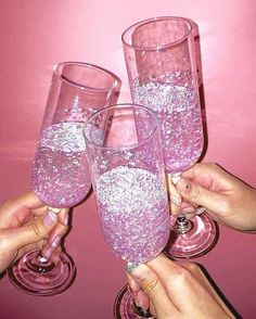 Boujee Aesthetic Discover The Best of 2017 on GO pink glitter and drink image Boujee Aesthetic, Bad Girl Aesthetic, Aesthetic Collage, Aesthetic Vintage, Aesthetic Pictures, Aesthetic Yellow, Aesthetic Grunge, Collage Mural, Bedroom Wall Collage