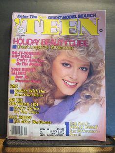 Teen MAGAZINE 1982 Fashion Beauty Crafts Seventeen 80's Ads ! Entertainment !