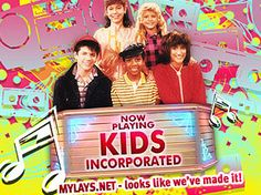Kids Incorporated. Saturday mornings, baby!