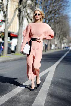 Caroline Daur, on day 3 of Paris Fashion week, Autumn/Winter 201