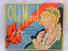 Vintage Old Maid Card Game 1937 Whitman 2 sets in by VintageShop, $18.95