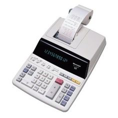 Sharp EL-1197PIII Heavy Duty Color Printing Calculator with Clock and Calendar (Office Product) http://www.amazon.com/dp/B00005BIEF/?tag=dismp4pla-20