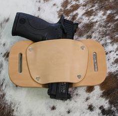 "OWB Holster ""The Coyote"" Model Belt Holster - Concealed Carry Wear"