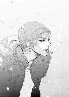 anime, boy