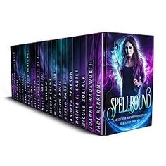 NY Times, USA Today, Amazon Bestselling and Award-Winning Authors  The Spellbound Boxed Set is a compilation of 20+ Full-Length Urban Fantasy and Paranormal Romance reads!  Readers of all ages will be swept away by this fascinating mix of existing titles and brand new content, full of pages brimming with faeries, witches, vampires, shifters, psychics, greek gods, angels, demons, and even ghosts!  With over a million words of fiction, this is your one stop shop for urban fantasy, epic…