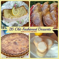 26 Old-Fashioned Desserts - These recipes for old-fashioned desserts are guaranteed to remind you of days gone by.