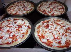 La mia pizza: sottile e fragrante
