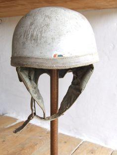 Vintage Moped helmet by VintageRetroOddities on Etsy