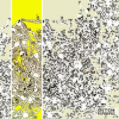 Skeletons by GlitchKawaii #art #pixel #glitch #netart
