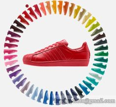 Adidas Superstars Now Come in Basically Every Color Cheap Adidas Shoes, Cheap Shoes, Nike Shoes, Adidas Sneakers, Cheap New Balance, New Balance Shoes, Adidas Zx, Gq, Superstar Supercolor