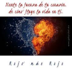 ¿Sabes fluir igual que fluye la sangre en ti? 10 de 11  #gabyichel #rojomásrojo