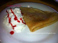 Una deliciosa receta de Crepes dulces para #Mycook http://www.mycook.es/receta/crepes-dulces-2/