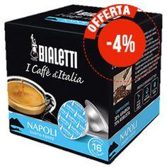 16 CAPSULE CAFFÉ BIALETTI I CAFFÉ D'ITALIA NAPOLI