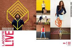 lacoste live, urban style