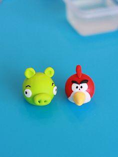 Angry Birds! Fondant Cupcake Topper Tutorial!