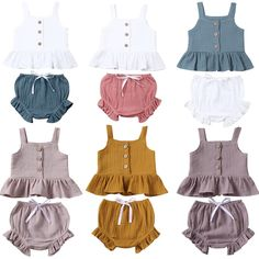 Georgie Set – For The Littles Apparel Mini Shorts, Short Outfits, Kids Outfits, Baby Boutique Clothing, Clothing Sets, Baby Girl Newborn, Baby Girls, Baby Baby, Two Piece Outfit