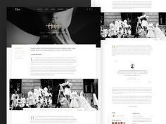 Dior - Blog redesign Concept