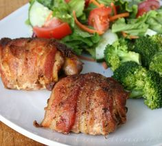 MIH Recipe Blog: Bacon wrapped Chicken  ALSO RECIPE FOR SMOKY SPICE BLEND season mix!