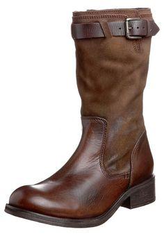 JANIS - Cowboy-/ Bikerboot - dark brown
