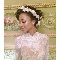 #Brides by Graciella Starling  Bespoke Milliner and Bridal designer  www.graciellastarling.com https://instagram.com/graciellastarling/