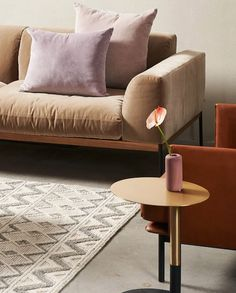 Best designers' tips to select a rug for your living room. Kinds Of Shapes, Sofa Colors, Shared Rooms, Occasional Chairs, Your Space, Living Room Furniture, Love Seat, Accent Chairs, Cool Designs