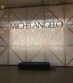 "Today I went with a group of readers to see the ""once in a lifetime"" Michelangelo 6 room exhibition at the Metropolitan Museum of Art.  We h..."
