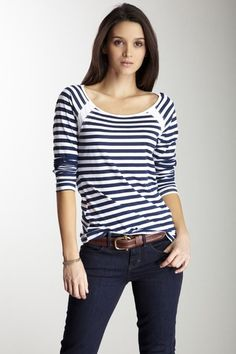C California Boatneck Top