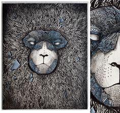 ARTWORK 2013 by John Rotkaer, via Behance