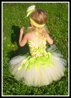 FROGGY PRINCESS Tiana Inspired Tutu with by goodygoodytutus, $95.00