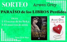 Otro sorteo de dos grandes libros en digital. Con la colaboración de Romantic Ediciones y Arwen Grey os ofrecemos dos nuevos ebooks. – El secreto de lo McKay – El amor está de moda Para…
