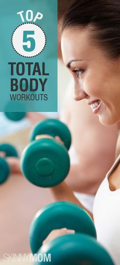5 Of The Top, Total Body Workouts! Get your workout on with these heart pounding, calorie burning, fat blasting workouts! Repin for 5 totally different workouts that you can do once a week!
