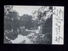 1906 Great Egg Harbor River May's Landing NJ post card