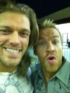 Edge and Christian - For the benefit of those with flash photography