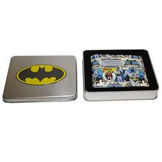 Batman & robin #wallet in tin retro coin #pocket dark knight licence gift #offici,  View more on the LINK: http://www.zeppy.io/product/gb/2/361493027883/