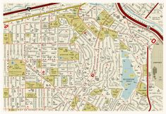 Infographic: A Street Map Of Famous Places In The Movies | Co.Design | business + design
