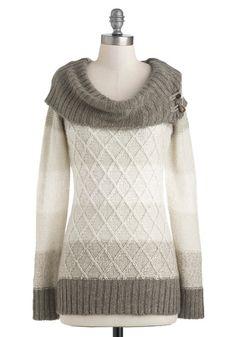 Pretty sweater for autumn