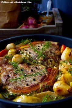 Andalusian auringossa-ruokablogi: Possua ja omenaa  http://www.andalusianauringossa.com/2014/09/possua-ja-omenaa.html
