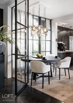 20 Incredible Diningroom Design Ideas That Looks Cool Dining Room Inspiration, Interior Design Inspiration, Home Decor Inspiration, Home Interior Design, Interior Architecture, Küchen Design, House Design, Design Ideas, Loft Interiors