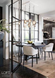 20 Incredible Diningroom Design Ideas That Looks Cool Dining Room Inspiration, Interior Design Inspiration, Home Interior Design, Interior Architecture, Design Ideas, Style At Home, Loft Interiors, Dining Room Design, Room Interior