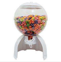 Dispensador De Cereal De Esfera Cereal Boxes, Snow Globes, Home Decor, Cereal Dispenser, Decoration Home, Room Decor, Home Interior Design, Home Decoration, Interior Design