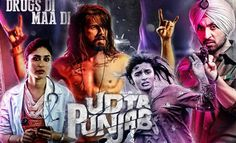Anurag Kashyap's upcoming film 'Udta Punjab' starring Shahid Kapoor, Kareena Kapoor, Alia Bhatt and Diljit Dosanjh had called for a legal battle over the Film Movie, Hd Movies, Movies Online, Watch Movies, Udta Punjab, Photo New, Entertainment Blogs, Shahid Kapoor, Kareena Kapoor