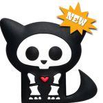 You don't get a cuter pedometer than Kit Skelanimal!
