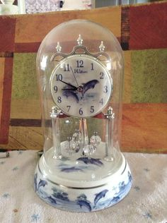 Dolphin anniversary clock on Etsy, $25.00
