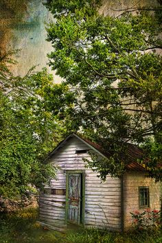 The Gardener's Shed by Distressed Jewell, via Flickr
