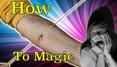How To Magic Needle Through Arm Revealed Magic Tricks, Arms, Youtube, Movie Posters, Magick, Film Poster, Youtubers, Billboard, Film Posters
